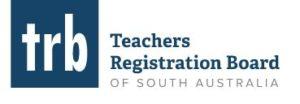 Teachers Registration of South Australia